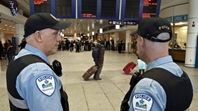Aiport security personnel